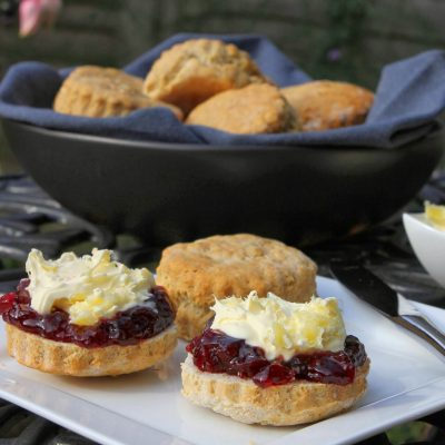 Gluten Free Scones…..Slightly Sweet & Perfect for Cream Tea!