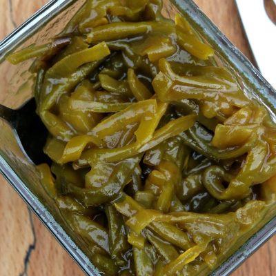 Green Bean & Caramelised Onion Chutney