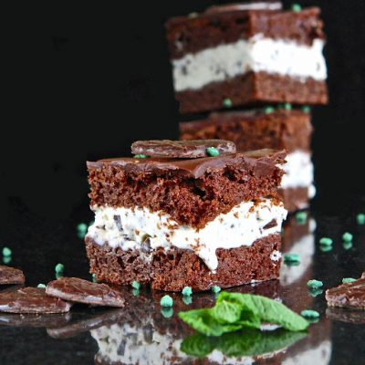 Chocolate-Mint 'After Eight' Ice Cream Cake Sandwiches (gluten free)