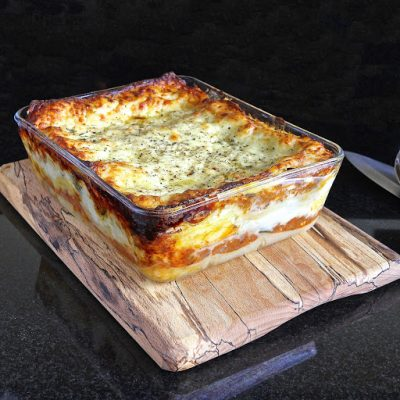 My Legendary Vegetable Lasagne – gluten free (or not as you choose)
