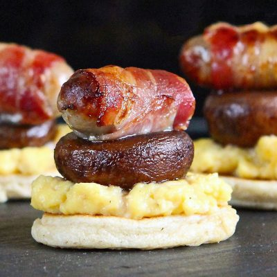 'The Full English'… Breakfast Blinis – a gluten free recipe