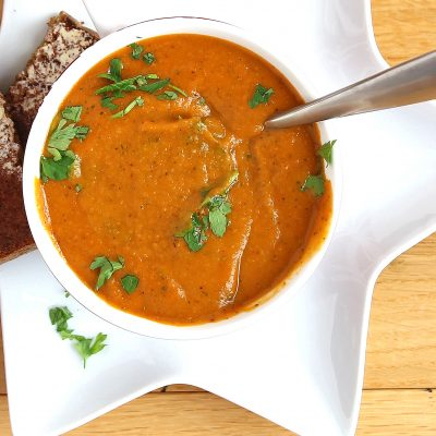 Best Roasted Vegetable Soup Recipe