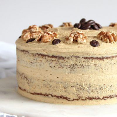 Coffee and Walnut Cake – Gluten Free