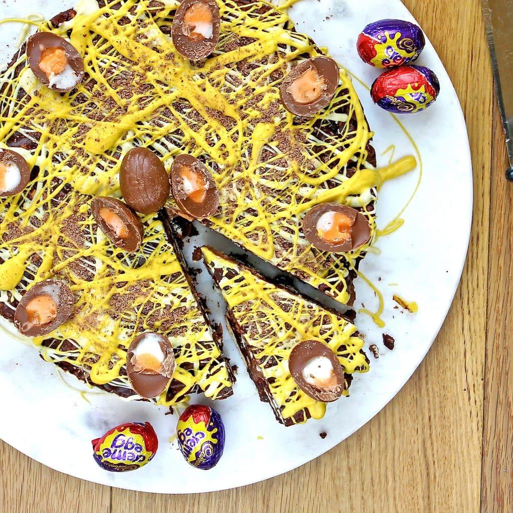 gluten-free-creme-egg-biscuit-cake