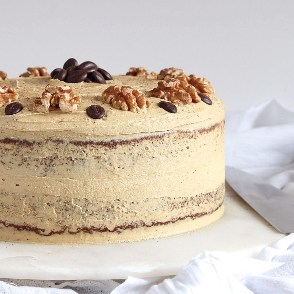 coffee-walnut-birthday-cake-gluten-free