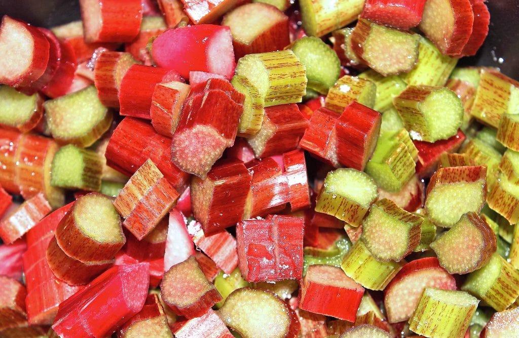 chopped-rhubarb