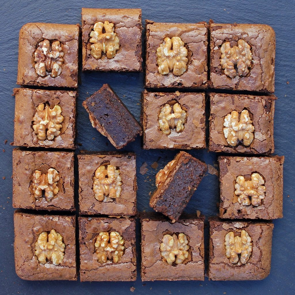 coffee-brownies-with-walnuts
