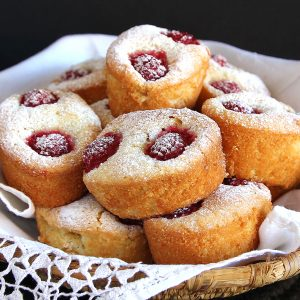 raspberry-friands