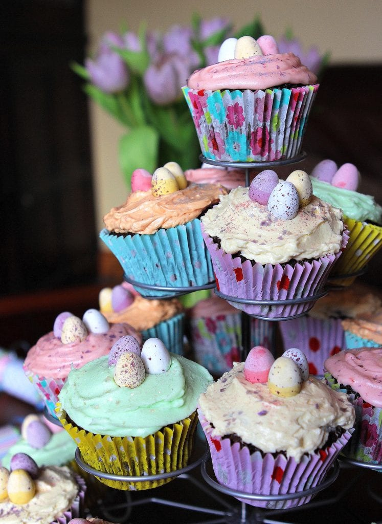 chocolate-gluten-free-easter-cupcakes