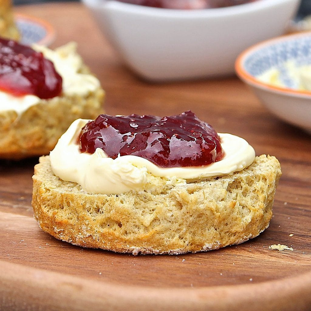 best-gluten-free-scones-jam-cream