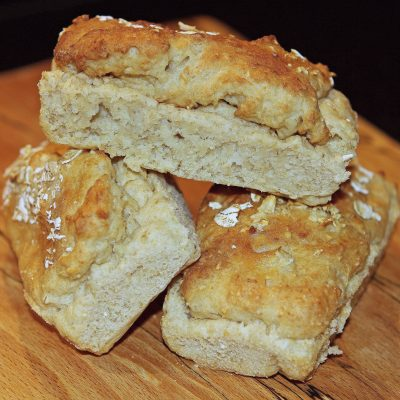 Let's Start with a Loaf of Bread… Oat and Rice Bread (gluten free)