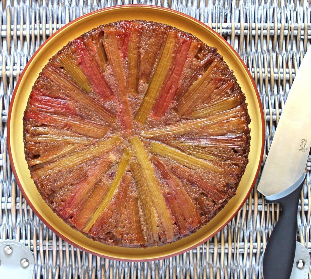 gluten-free-rhubarb-upside-down-cake