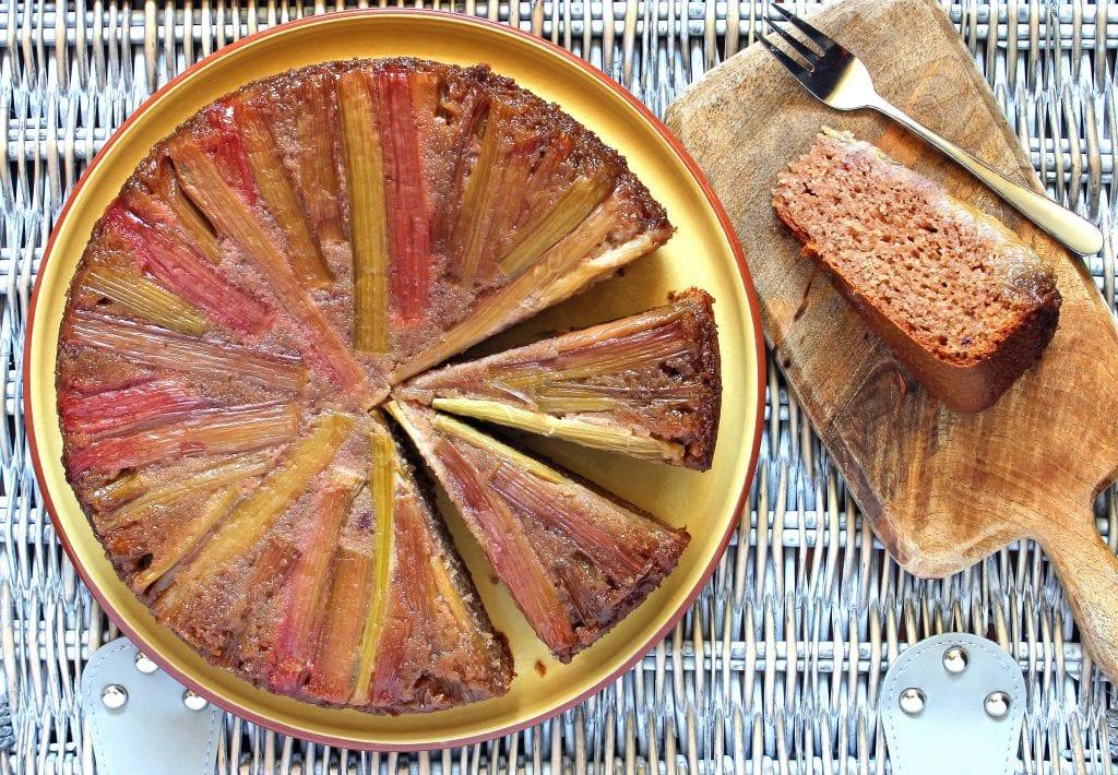 rhubarb-gluten-free-upside-down-cake