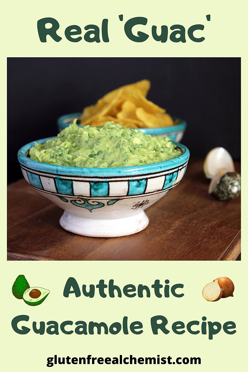 Real 'Guac' – An Authentic Guacamole Recipe