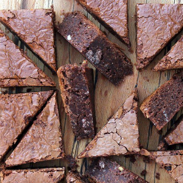 Toblerone Brownies – gluten free