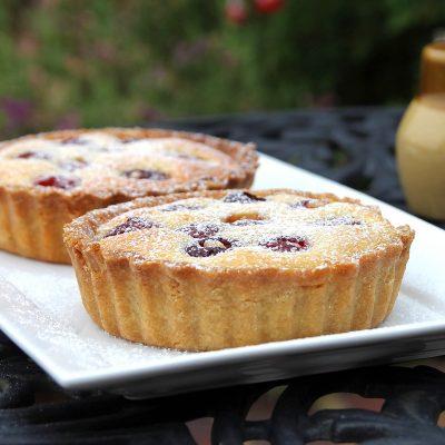 Cherry Frangipane Tart – Gluten Free