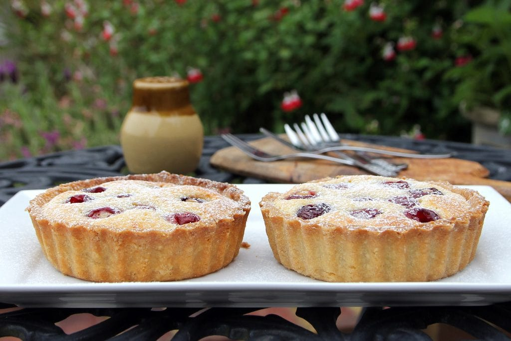 gluten-free-cherry-almond-tart