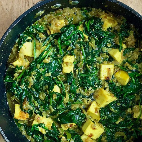 """Saag Paneer – from Rick Stein's """"India"""""""