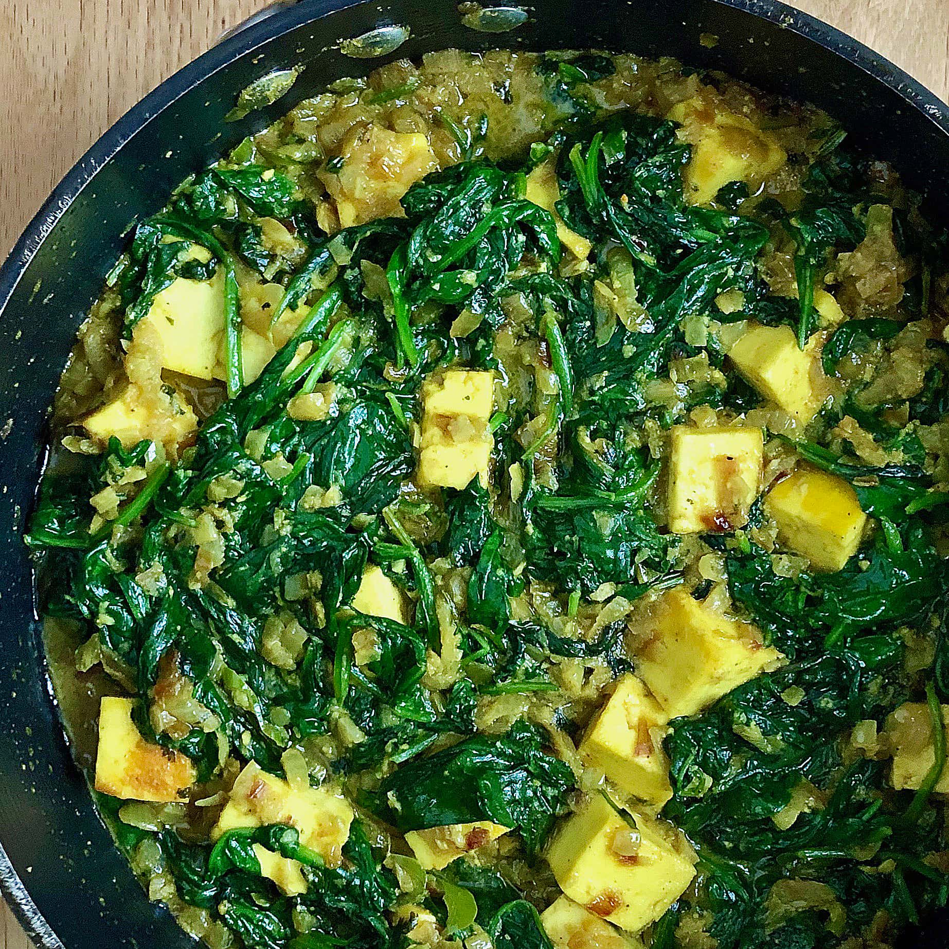 Saag Paneer A Recipe From Rick Stein S India