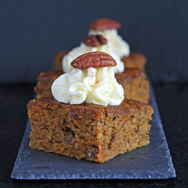 Gluten Free Carrot Sheet Cake