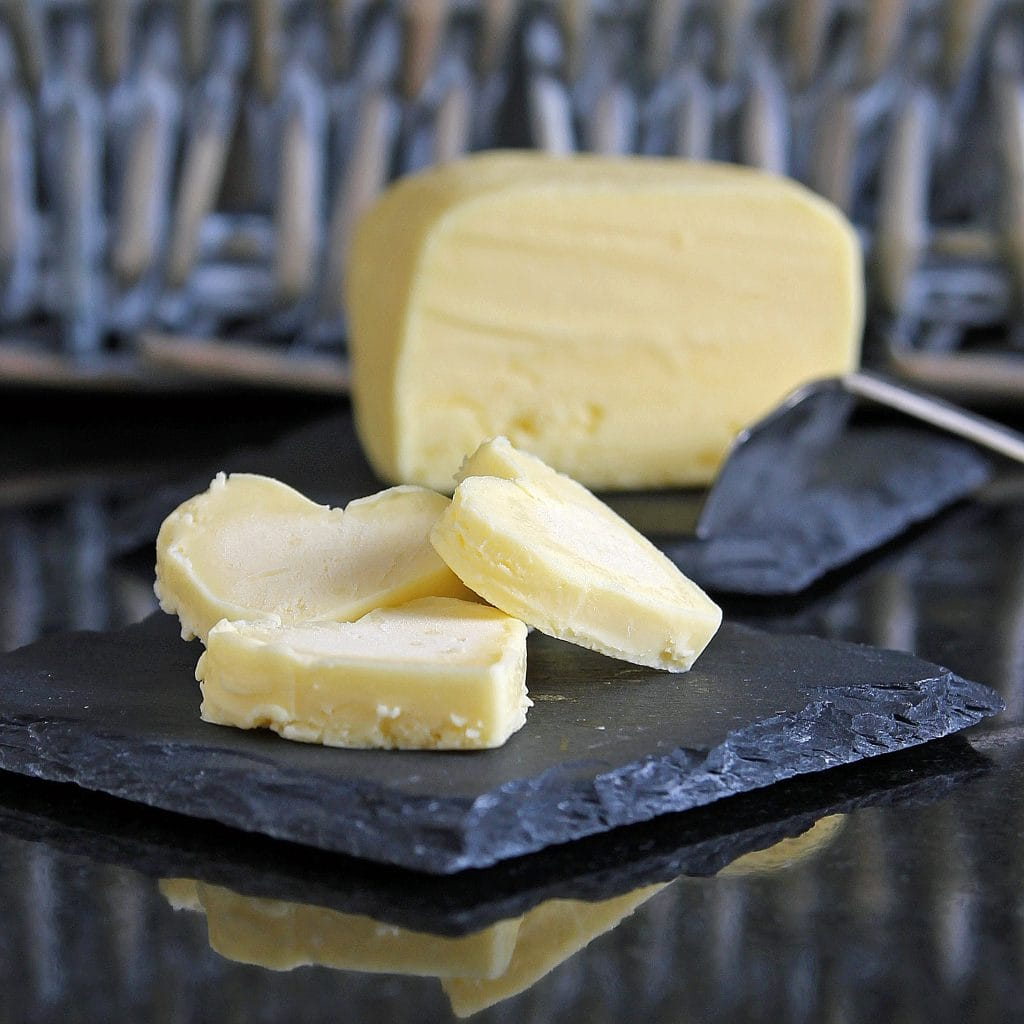 homemade-butter-shaped