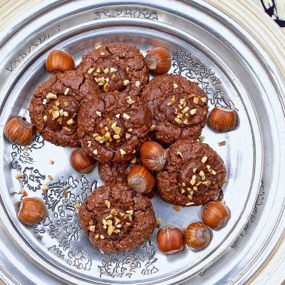 Nutella Thumbprint Cookies – gluten free