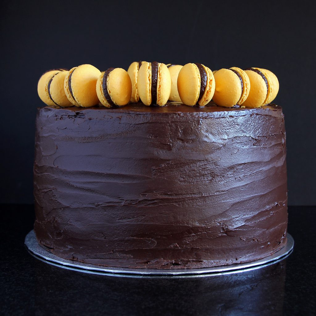 chocolate-orange-wedding-cake