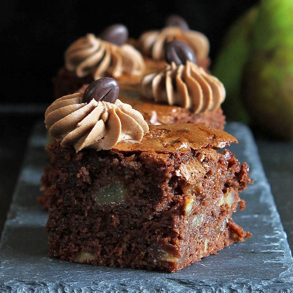pear-walnut-brownies