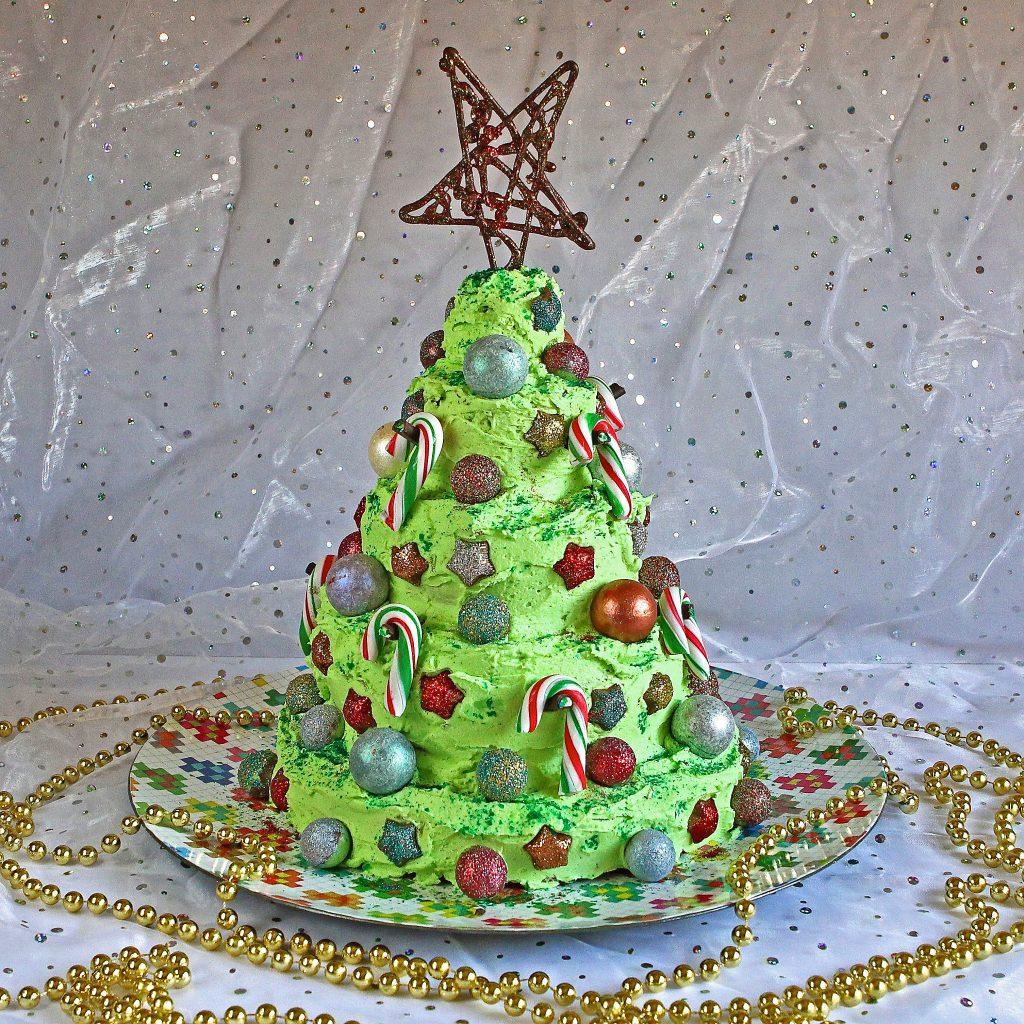 coeliac-christmas-tree-cake