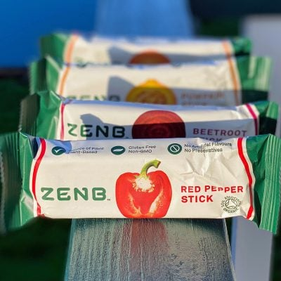 ZENB Veggie Sticks – Amazing bars that may just change the way you snack!