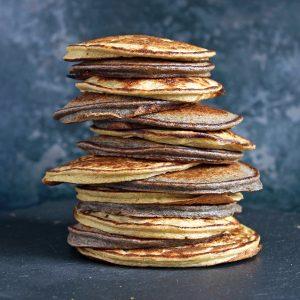 fruit-blender-pancakes-stack