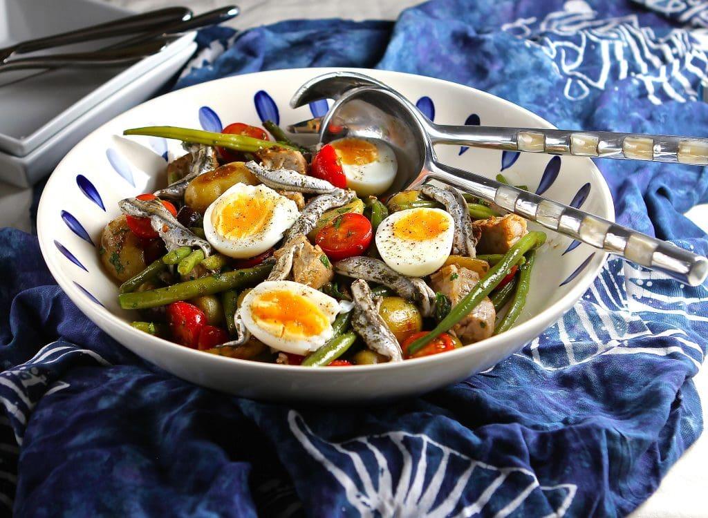 tuna-nicoise-green-beans-potatoes