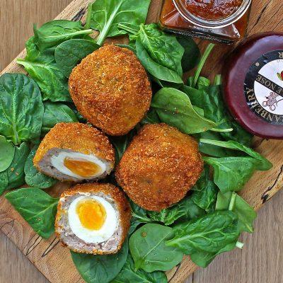 Scotch Eggs – A Homemade Recipe with Gluten Free Breadcrumbs