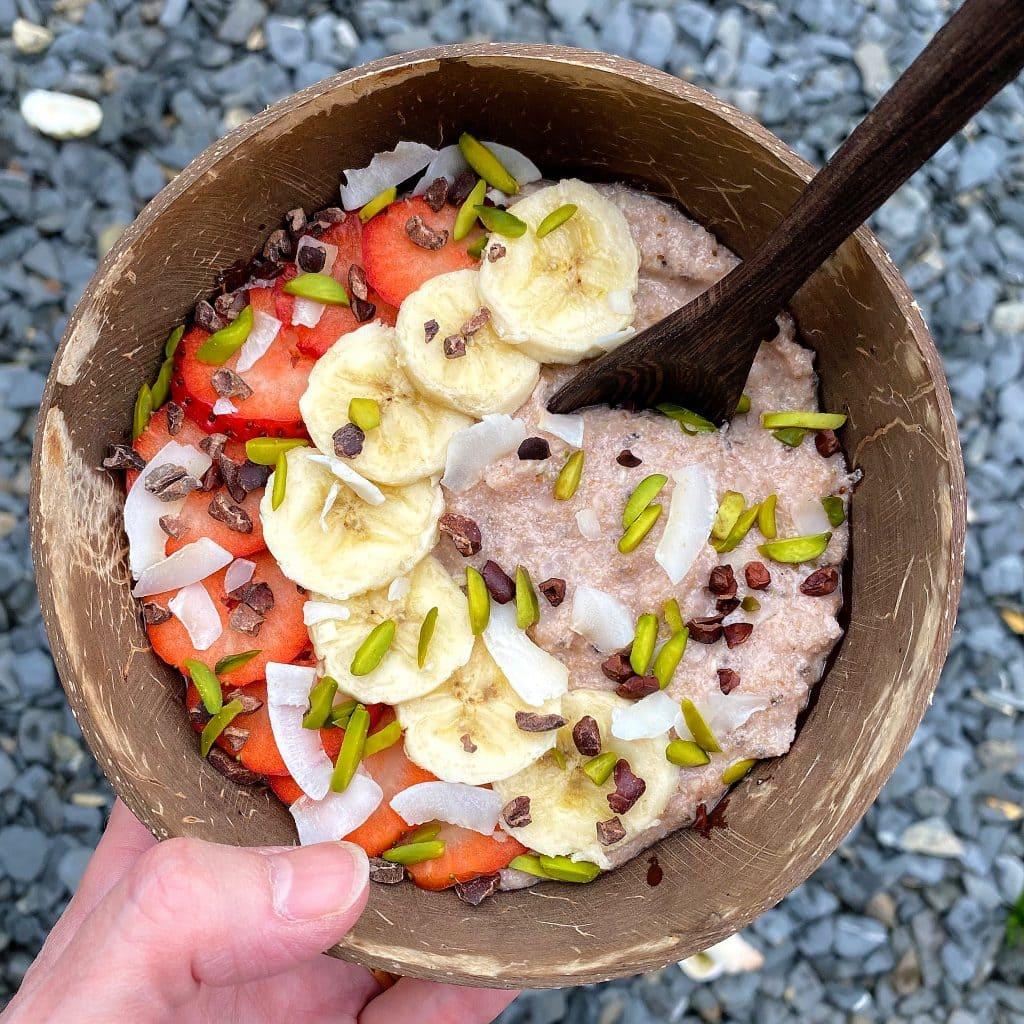 gluten-free-rice-porridge-strawberry-purition