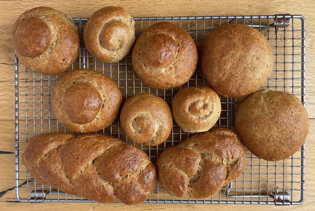 Dinner wholemeal-gluten-free-rolls